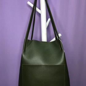 Bucket Dark Green